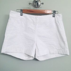 Banana Republic White Lacey Shorts